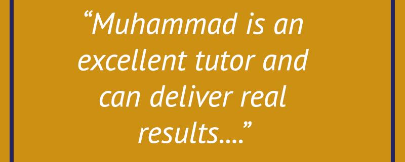 Excellent tutor