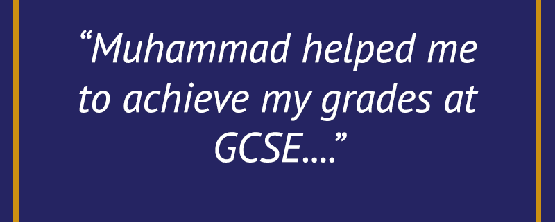 MST Testimonial - GCSE
