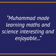 Maths and Science -GCSE