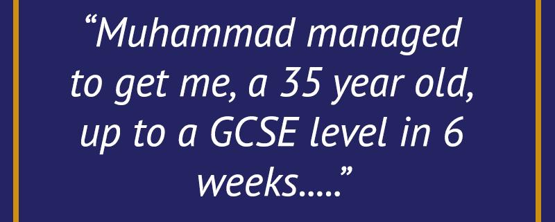 Maths GCSE Mature student