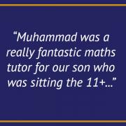 TESTIMONIAL-Maths tuition London