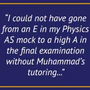 Testimonial- Physics